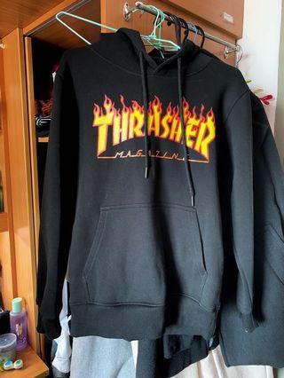 Thrasher火焰帽踢