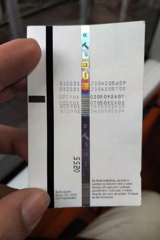 巴塞隆拿地鐵票 及 上網卡 Barcelona T10 and card