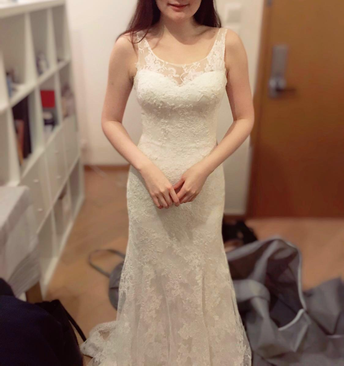 1.618 全lace wedding gown 婚紗