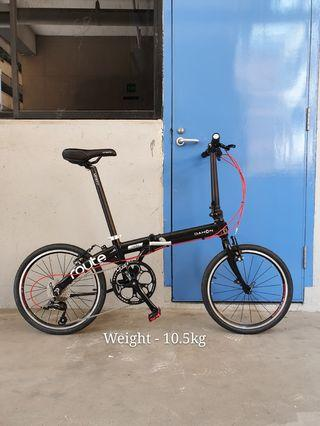 Dahon Route 20inch 9speed Folding Bicycle