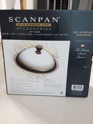 Scanpan Stainless Steel Wok Lid 32cm