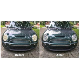 Headlamp Restoration Services WE COME TO YOU ! 24/7