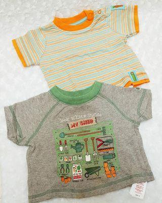 mothercare summer plants t shirt set 2pcs