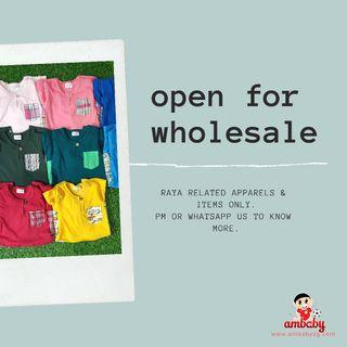 Open for Wholesale