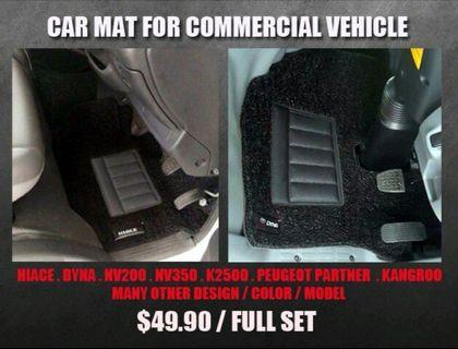 Car Mat For Commercial Vehicle