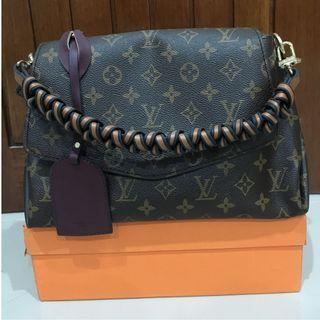 Louis vuitton cluny mirror real leather