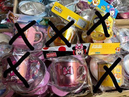 韓國不銹鋼有蓋Minnie Mouse 米妮 杯
