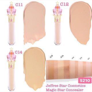 代購 Jeffree Star Cosmetics Magic Star Concealer 遮瑕液 $210