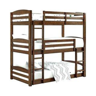 AFFORDABLE Solidwood Triple decker Bunk bed