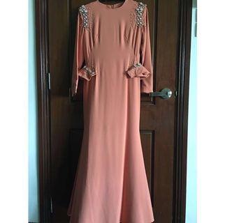 Jovian Mandagie dress (peach) [NEW]