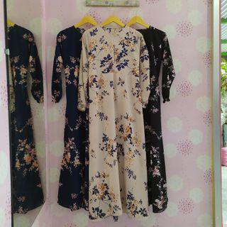 Gamis Monalisa Busui Friendly fit to XL