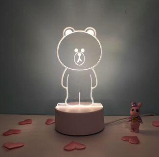 USB 熊大Lamp