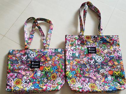 🚚 (BNIP) Tokidoki x Changi Mother & Daughter Bags
