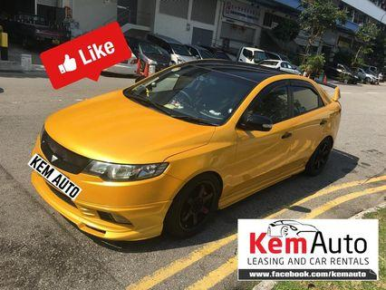 Weekday sport car rental Mitsubishi lanxer CS3 drift racing colt R turbo kia cerato integra honda civic c200k bmw 320i