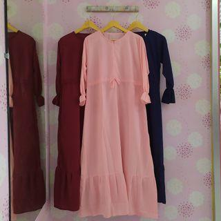 Gamis Wolfis Busui Friendly fit to L