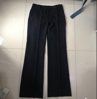 Celana bahan hitam Zara Woman