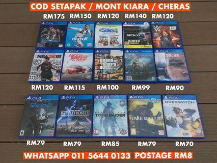 PLAYSTATION 4 USED GAME