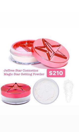 缺貨中~代購 Jeffree Star Cosmetics Magic Star Setting Powder 半透明碎粉 #Translucent $210