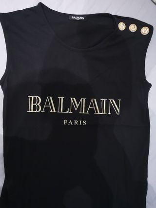 Authentic Balmain Tank Top