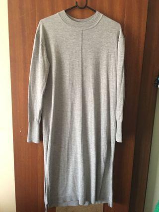 ASOS crew neck knit dress
