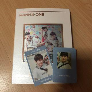 🚚 wanna one triple position album