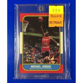 b49f51d6c10 NBA Rookie Card - Michael Jordan 1986 Fleer Reprint