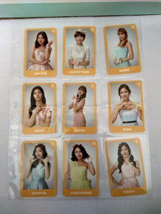 TWICELAND - THE OPENING ENCORE - Official Photocards