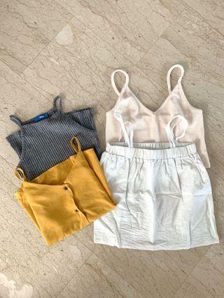 camisoles/crop cami