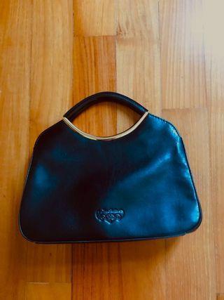 Jane Shilton Leather Handbag (Black)