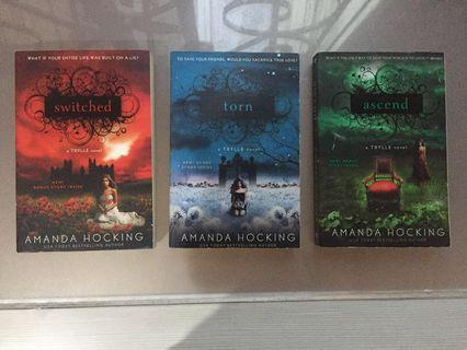 Amanda Hocking Trylle Trilogy (Switched, Torn, Ascend)