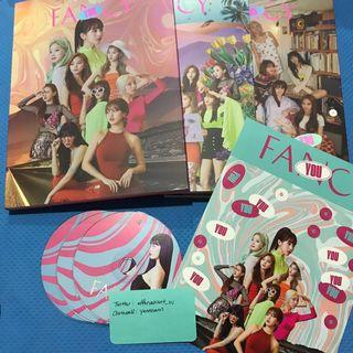 Twice The 7th Mini Album Fancy You Official Album Momo CD