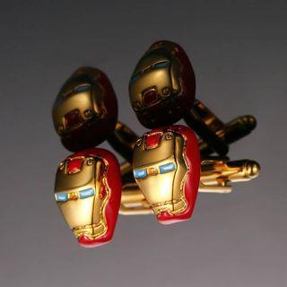 Cufflinks - Cuff Link - Ironman Avenger
