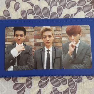🚚 SALE EXO Growl Photocards Official