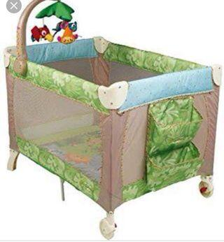 Rainforest 3 in 1 traveling cots