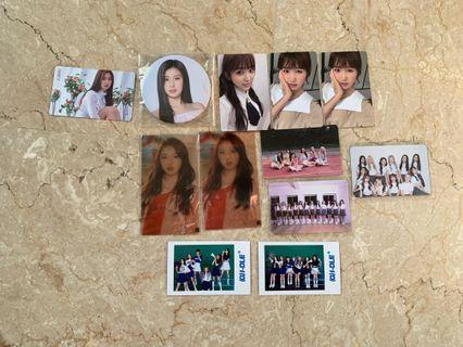 [wts] girl group pcs / limited items sale/clearance (loona/izone/gidle)