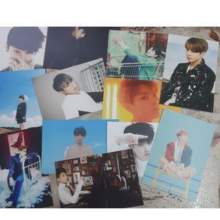 BTS jungkook unofficial armypedia postcard set