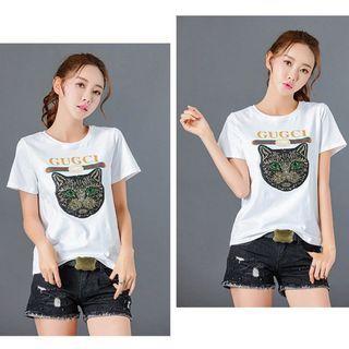 🚚 Women T-Shirt Size.M-L