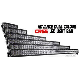 Cree Advance Dual Colour LED Light Bar (23inch)
