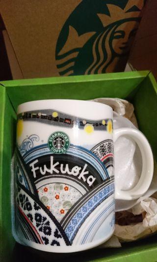 福岡星巴克城市馬克杯