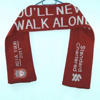 Liverpool Asia tour 2011 scarf