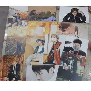 BTS jhope j-hope unofficial armypedia postcard set