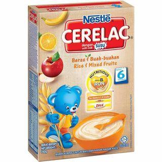 🚚 To Bless: [FOC] BNIB Nestle Cerelac Mixed Fruits (#blessing)
