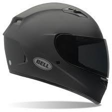 Matt black bell helmet