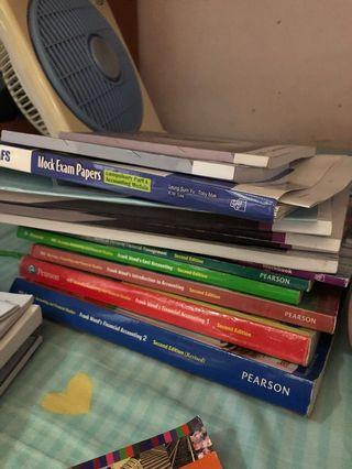 Bafs textbook (Core+Accounting)w/ Hayson Liu notes