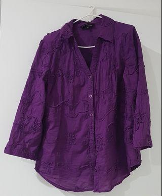*NEW* Women's Purple Blouse