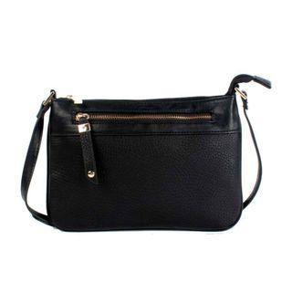 NAOMI CAMPBELL BLACK MINI SLING BAG