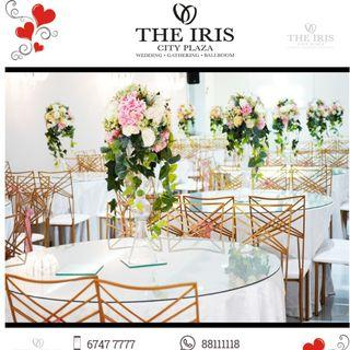 Malay wedding package for 300 pax - The Iris City Plaza ( 6 7 4 7 7 7 7 7 )