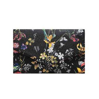 PAYLESS FLORAL CLUTCH