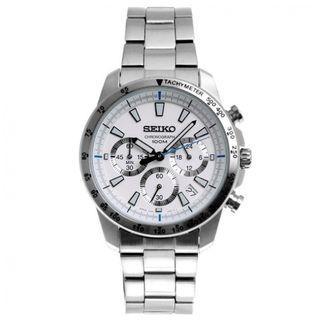 5折出售 深水步有門市全新1年保養有單正版正貨 SEIKO 精工錶 SSB025P1