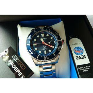 5折出售 深水步有門市全新1年保養有單正版正貨 SEIKO 精工錶 SNE435J1 Made in japan